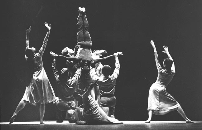 """Alvin Ailey Dance Company performing """"Three Black Kings"""""""