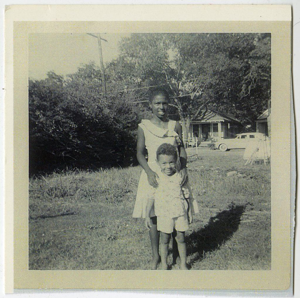 Willette Miller Kimbrough with Pierce Vallier, Jr.