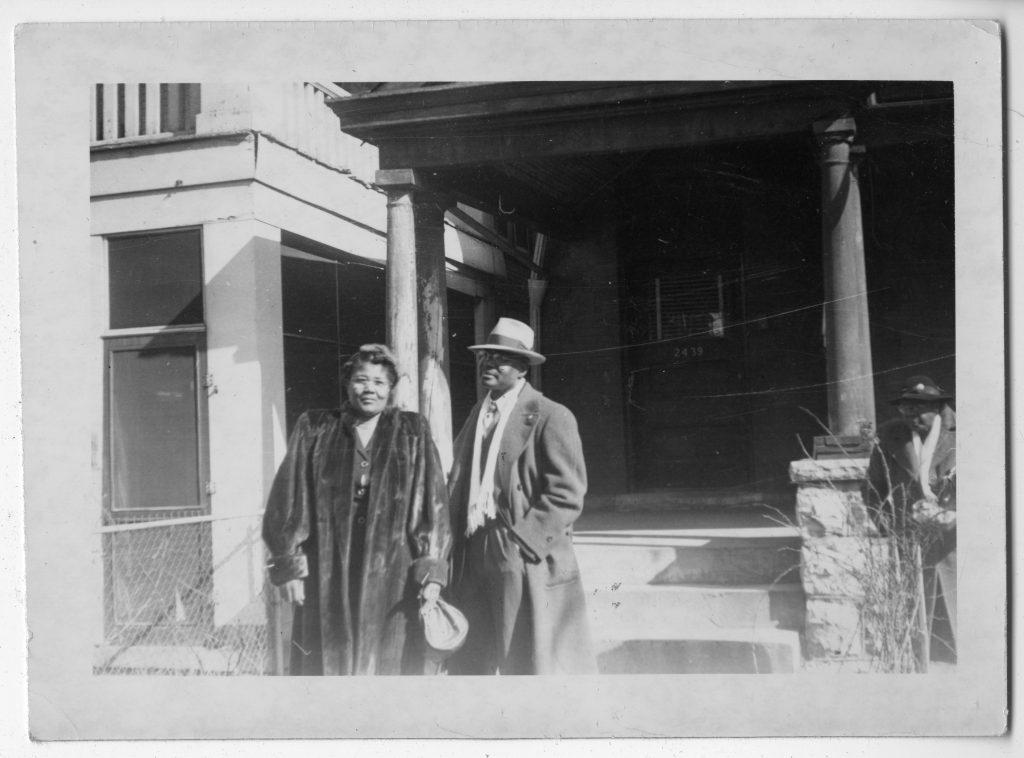 Rev. Preston Allen, Sr. and Mrs. Otealet Allen