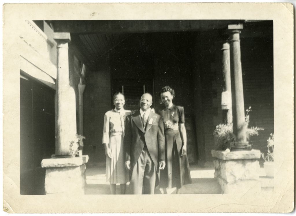 Grace Allen, Rev. Preston Allen, Sr., and Vernetta Allen